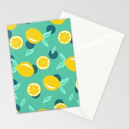 Lemon dots #society6 #decor #buyart Stationery Cards