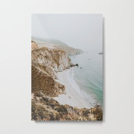 california coast v / big sur Metal Print