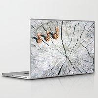 giraffes Laptop & iPad Skins featuring giraffes by AP Photography