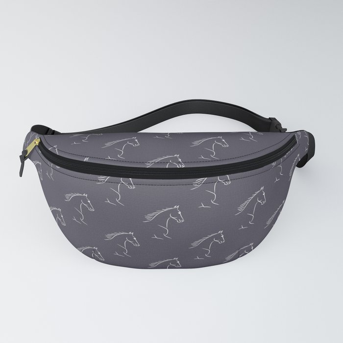 Horse Pattern | Horseback Riding Pony Stallion Fanny Pack
