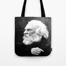 Julia Margaret Cameron - Portrait of Longfellow Tote Bag