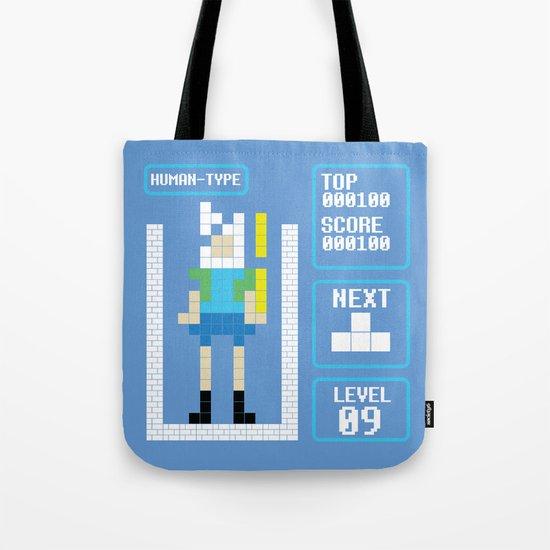 TETRIS: Human Type Tote Bag