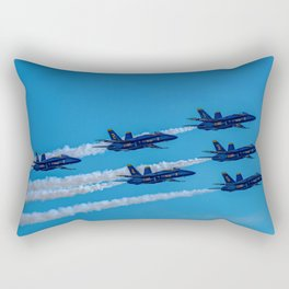 The Blue Angels Rectangular Pillow