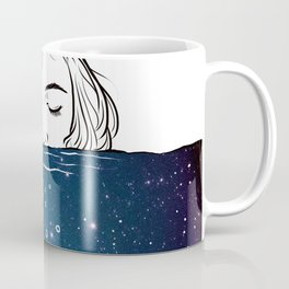 Deep breathing. Coffee Mug