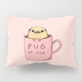 Pug of Tea Pillow Sham