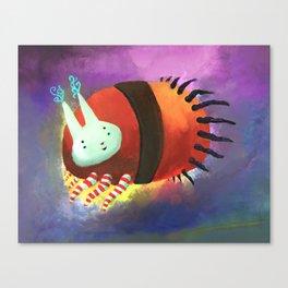 Bunny Tick Canvas Print
