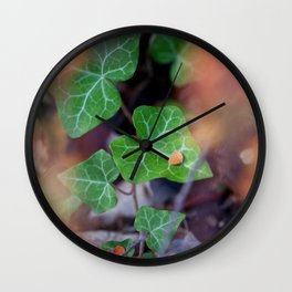 Leaves GO 02 Wall Clock