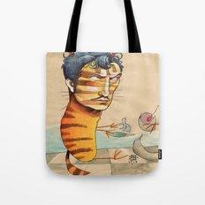 EASY, TIGER Tote Bag