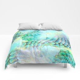 Mermaid Watercolor Comforters