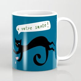 party animals - french cat Coffee Mug