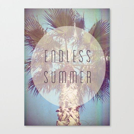 Endless Summer Canvas Print