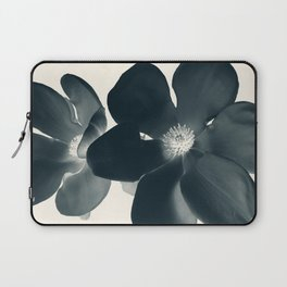 Cyan Magnolia #1 Laptop Sleeve