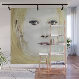 Girl with Flaxen Hair Wall Mural