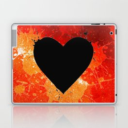 Red Hot Heart Laptop & iPad Skin