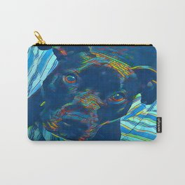Pittie series from our POP YOUR POOCH line Carry-All Pouch