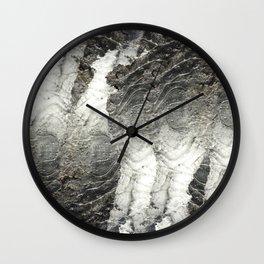 Black Ice Wall Clock