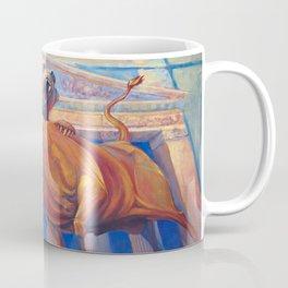 Bear vs Bull Coffee Mug