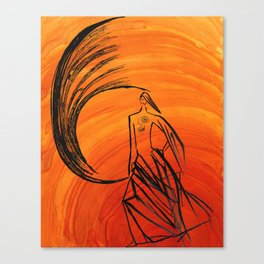 Angel under cover Canvas Print