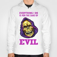 evil Hoodies featuring EVIL by DesecrateART (Infected)