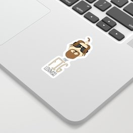 The Fig Lebowski Sticker