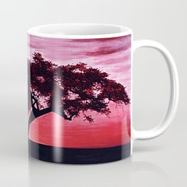 Cherry Blossom Sunset Coffee Mug