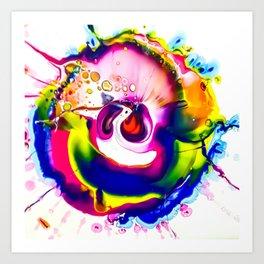 Rainbow Splash Art Print