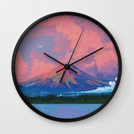 Fuji-san Wall Clock