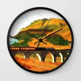 Glenfinnan viaduct  Wall Clock