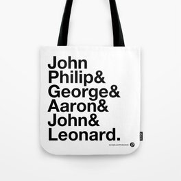 American Composers v2 Tote Bag