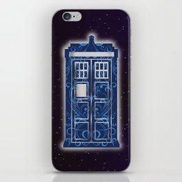 Filigree TARDIS iPhone Skin