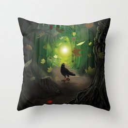 Spellbound Chronicles - Bloodline Throw Pillow
