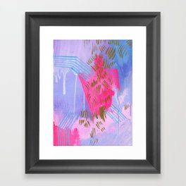 fucking angels baby Framed Art Print