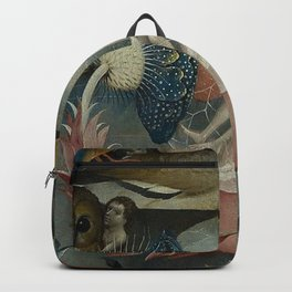 THE GARDEN OF EARTHLY DELIGHTS (detail) - HIERONYMUS BOSCH Backpack