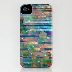 Space Glitch iPhone (4, 4s) Slim Case
