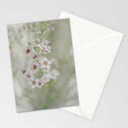 Daydreaming is Her Way -- Romantic Spring Floral Stationery Cards