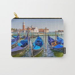 Venice Canal with Boats in Italy Carry-All Pouch