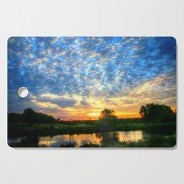 November East Texas Sunrise Cutting Board
