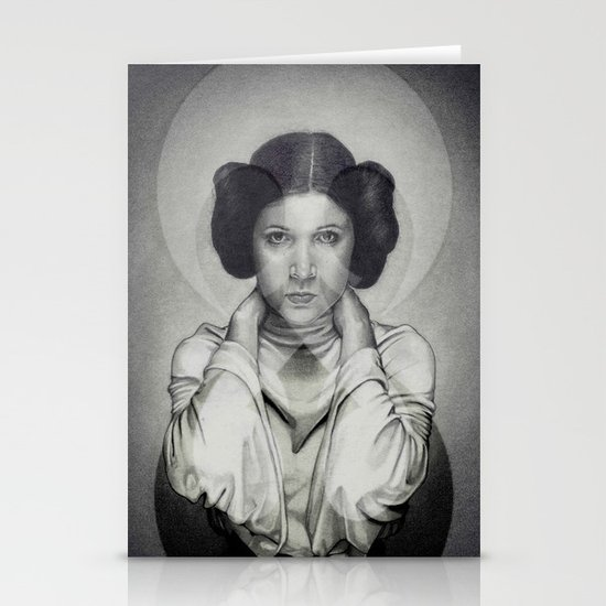 Star Wars Princess Leia Stationery Cards