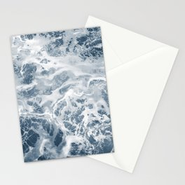 Pacific Ocean Waves Pattern Aerial Photography Stationery Cards