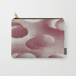 Bubbly Retro Seurat Dot  Carry-All Pouch
