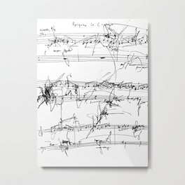 Rhizome in C Major Metal Print