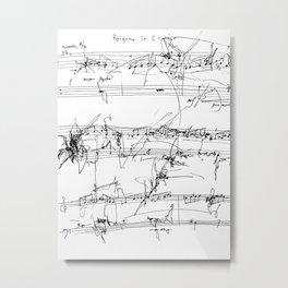 Rhizome in C Major Metal Print