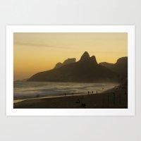 rio Art Prints featuring Rio by gmateus