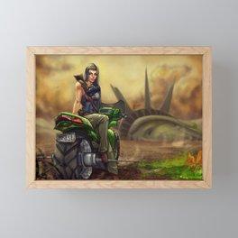 After Apocalypse Framed Mini Art Print