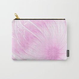 Pink Spring | Flower, abstract digital painting, cute floral pattern, pretty pastel flowers Carry-All Pouch