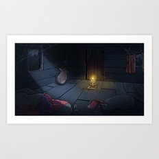 The Midnight Man Art Print