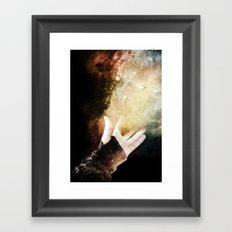 On your dreams, Framed Art Print