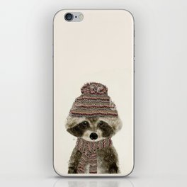 little indy raccoon iPhone Skin