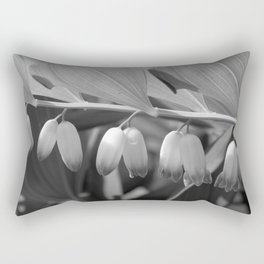 White Bells Flower Rectangular Pillow