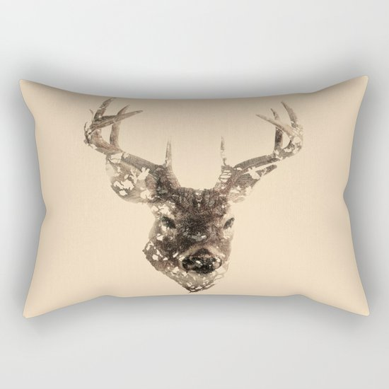 Cervus (Classic Version) Rectangular Pillow